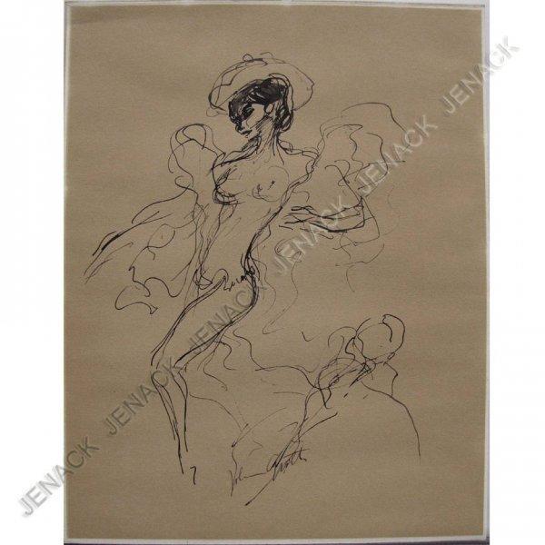 10: JOHN A. GROTH (AMERICAN NEW YORK 1902-1988) INK
