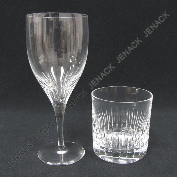13: LOT (17) ATLANTIS CUT CRYSTAL GLASSWARE