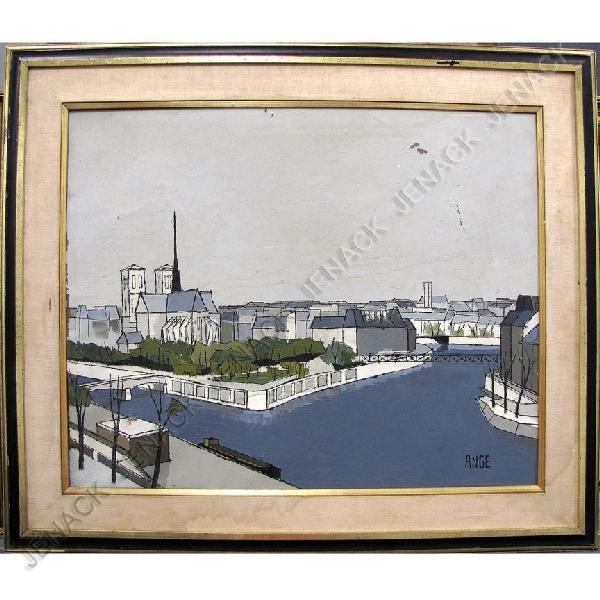 1: FRENCH SCHOOL (20TH CENTURY), OIL ON CANVAS, PARIS