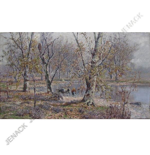 22: THOMAS CORWIN LINDSAY (AMERICAN 1839-1907), OIL