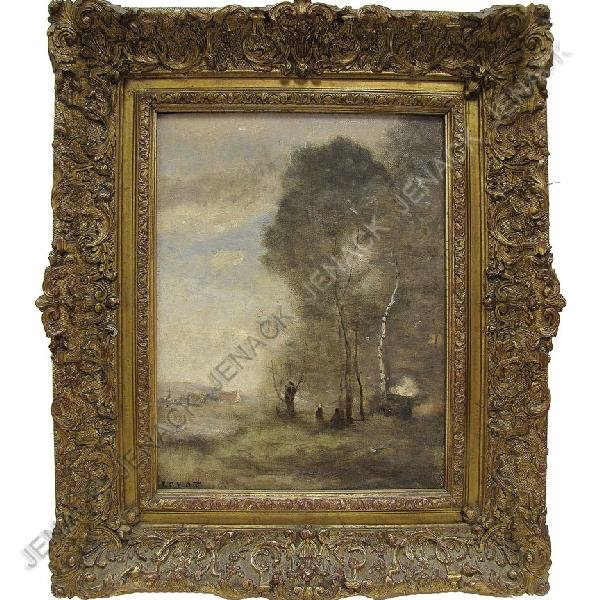 261: ATTRIBUTED TO JEAN BAPTISTE CAMILLE COROT