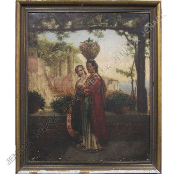 24: ATTRIBUTED TO HENRY WOODS (BRITISH 1846-1921), OIL