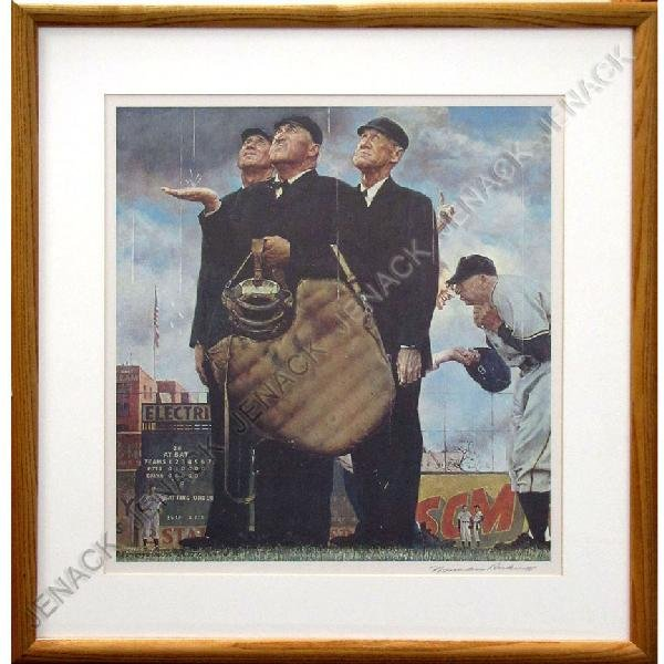 4: NORMAN ROCKWELL (AMERICAN 1894-1978) OFFSET LITHO