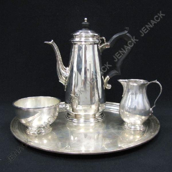 245: TIFFANY & CO. MAKERS STERLING SILVER TEA SET