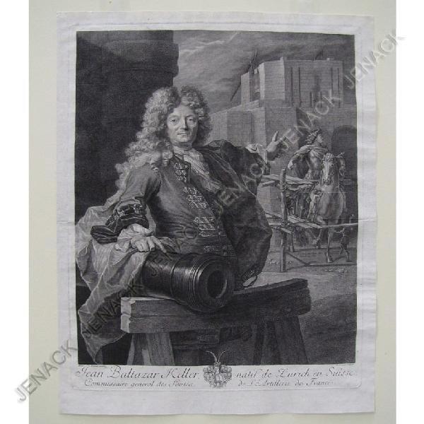 13: PIERRE DREVET (FRENCH 1697-1738), COPPER ENGRAVING