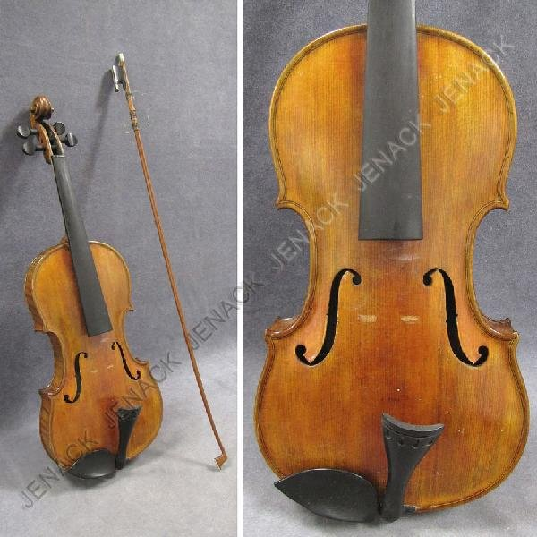 8: AMERICAN VIOLIN LABELED JOHN A. GOULD & SONS
