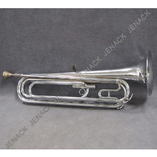 19: GETZIN DELUXE CHROME PLATED PARADE TRUMPET