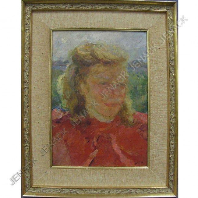 12: ARKADI ALEKSANDROVICH PLASTOV (RUSSIAN 1893-1972)