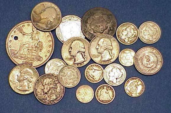 18: LOT (18) ASSORTED U.S. COINS