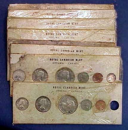 19: (8) 1960 CANADIAN MINT SETS (6) COINS