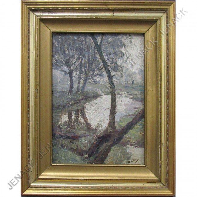 22: PIERRE EUGENE MONTEZIN (FRENCH 1874-1946), OIL