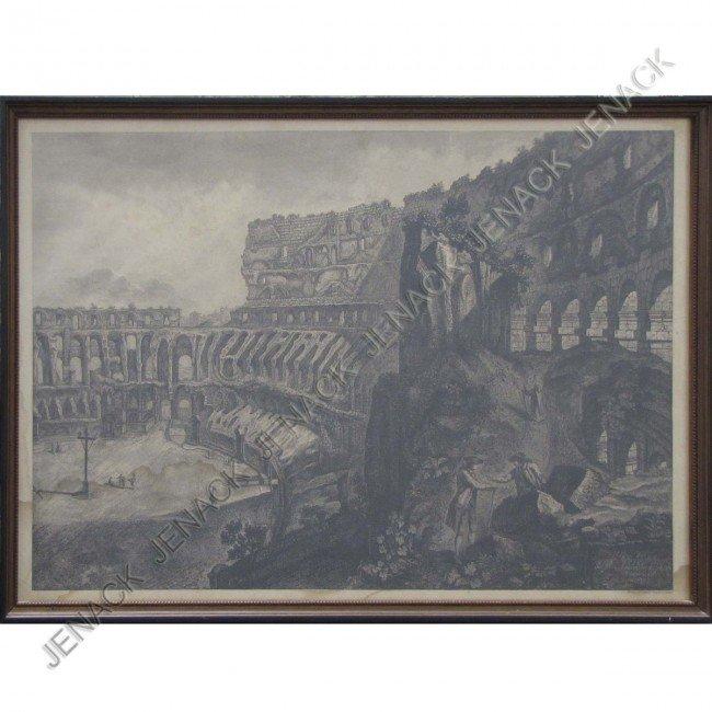 7: FRANCESCO PIRANESI (ITALIAN 1758-1810), ETCHING