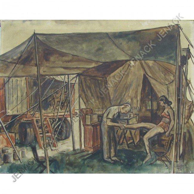 19: ROBERT A. HERZBERG (AMERICAN/MICHIGAN 1886-1960)