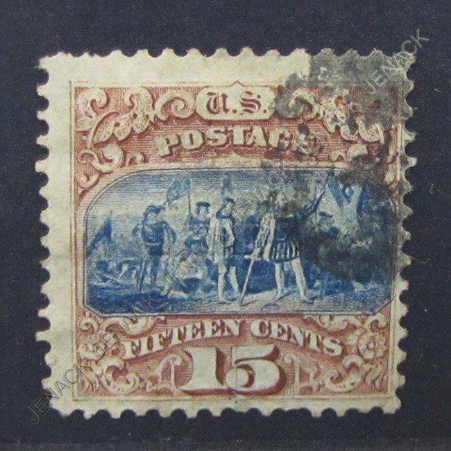 132: U.S. POSTAGE STAMP, SCOTT CATALOG # 118