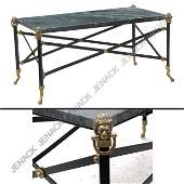 47 FRENCH EMPIRE STYLE COFFEE TABLE