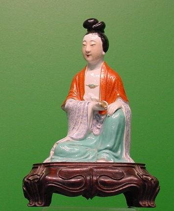 85: CHINESE DECORATED PORCELAIN, FIGURE