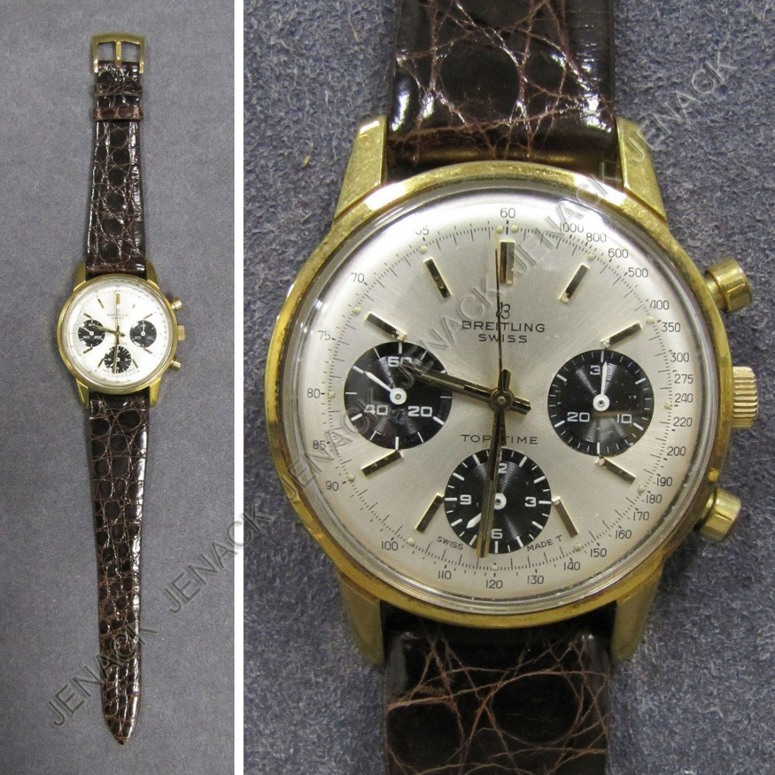 """21: BREITLING """"TOP TIME"""" CHRONOGRAPH WRISTWATCH"""