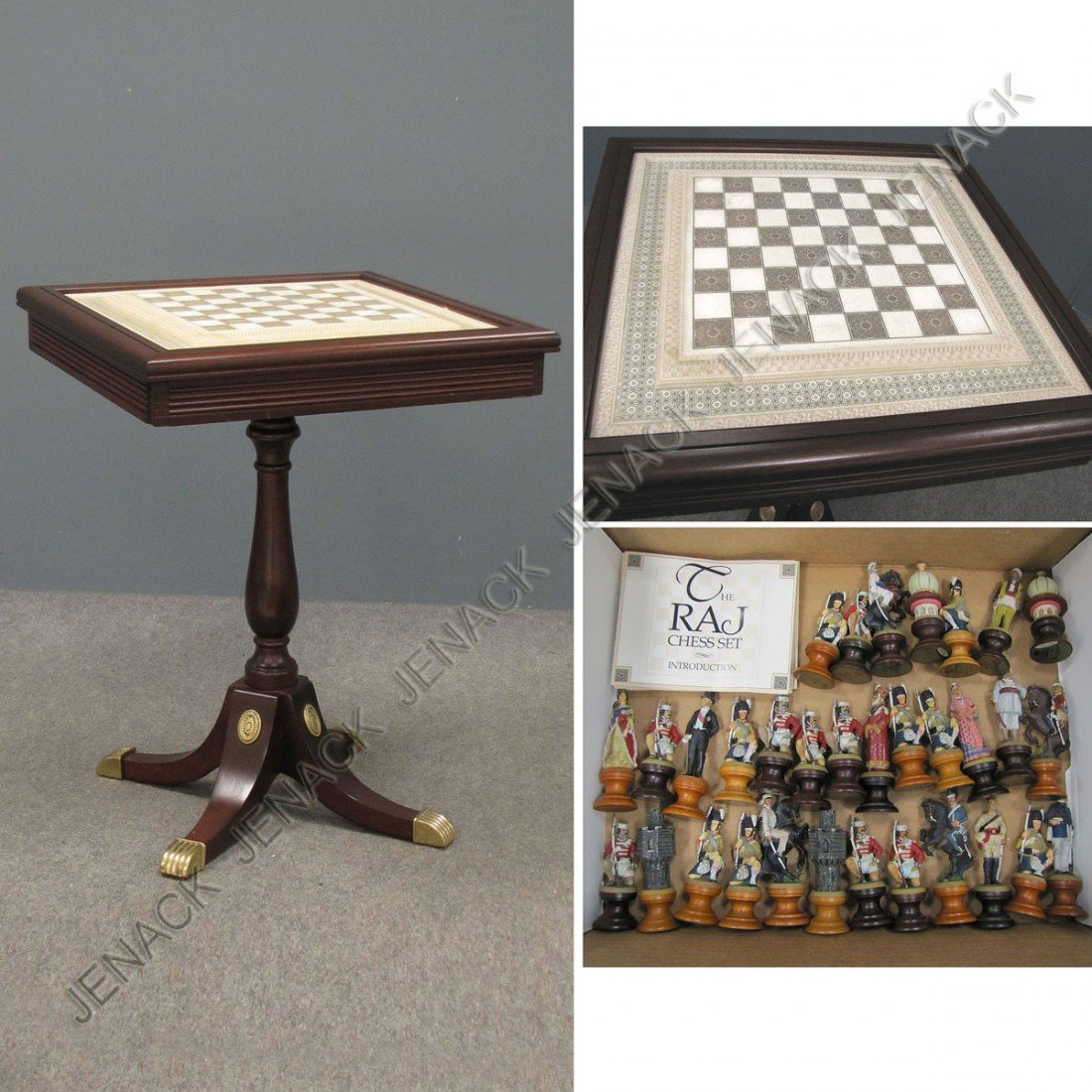FRANKLIN MINT RAJ CHESS SET