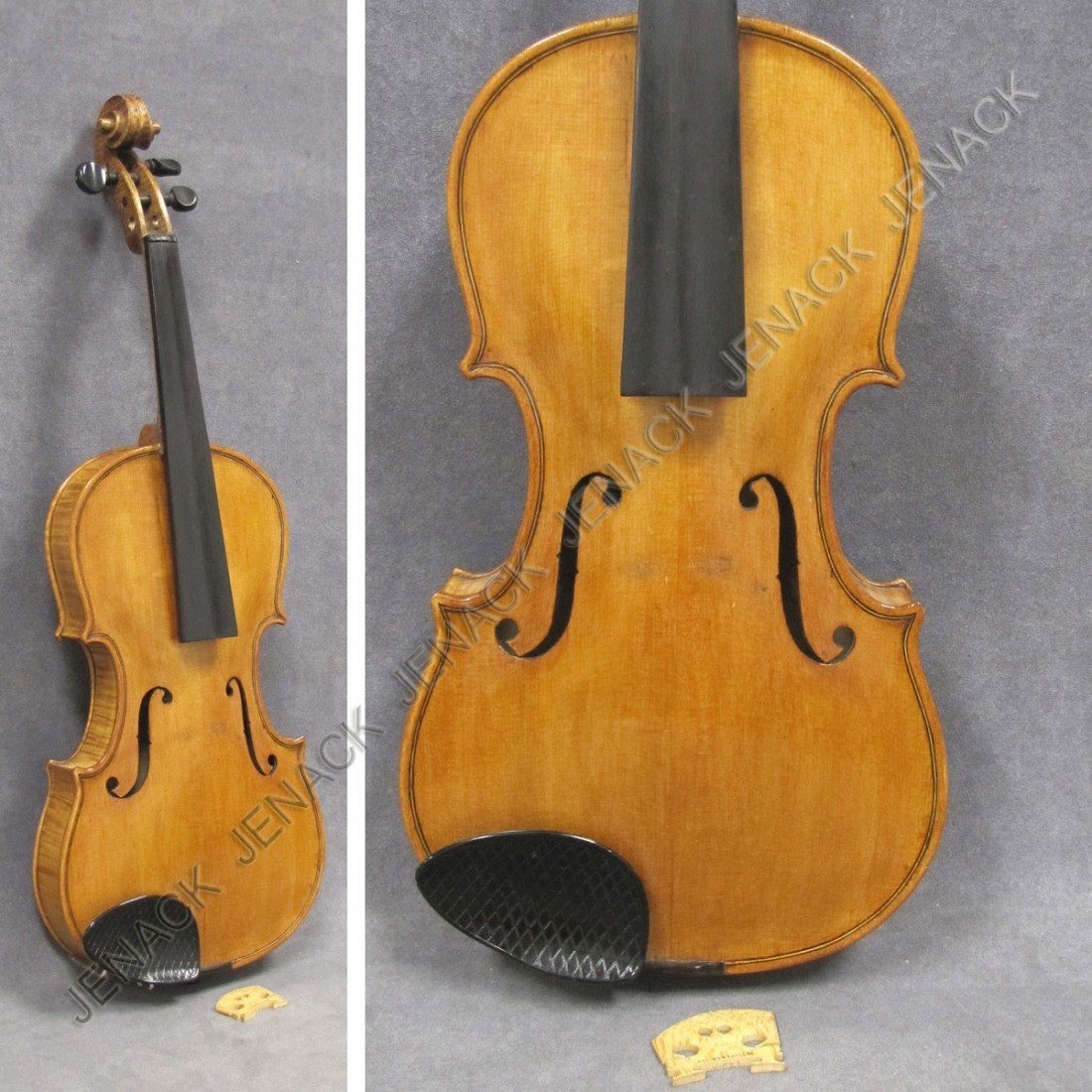13: MAURIEIUS WEISS/NEW YORK 1948 LABELED VIOLIN