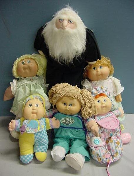 1003: (6) ASSt DOLLS INCLUDING CABBAGE PATCH