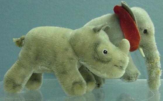 1015: LOT (2) STEIFF INCLUDING ELEPHANT