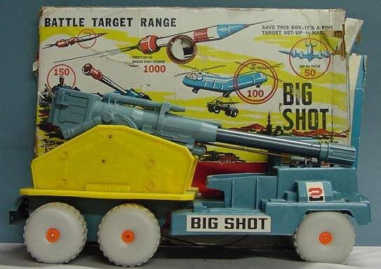 1017: BIGSHOT MISSILE FIRING CANNON TRUCK/BOX