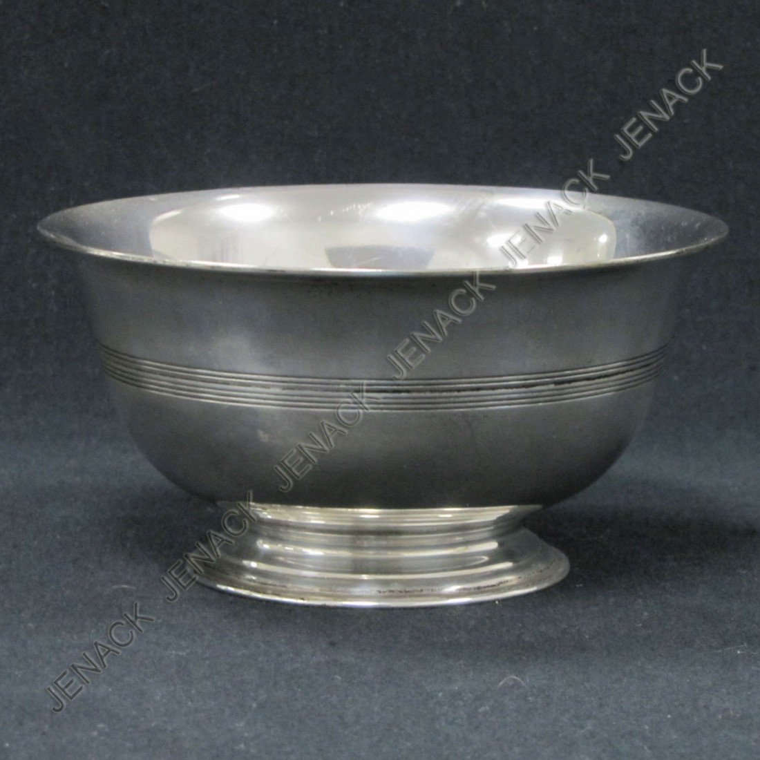 1: TIFFANY & CO. MAKERS STERLING FOOTED BOWL