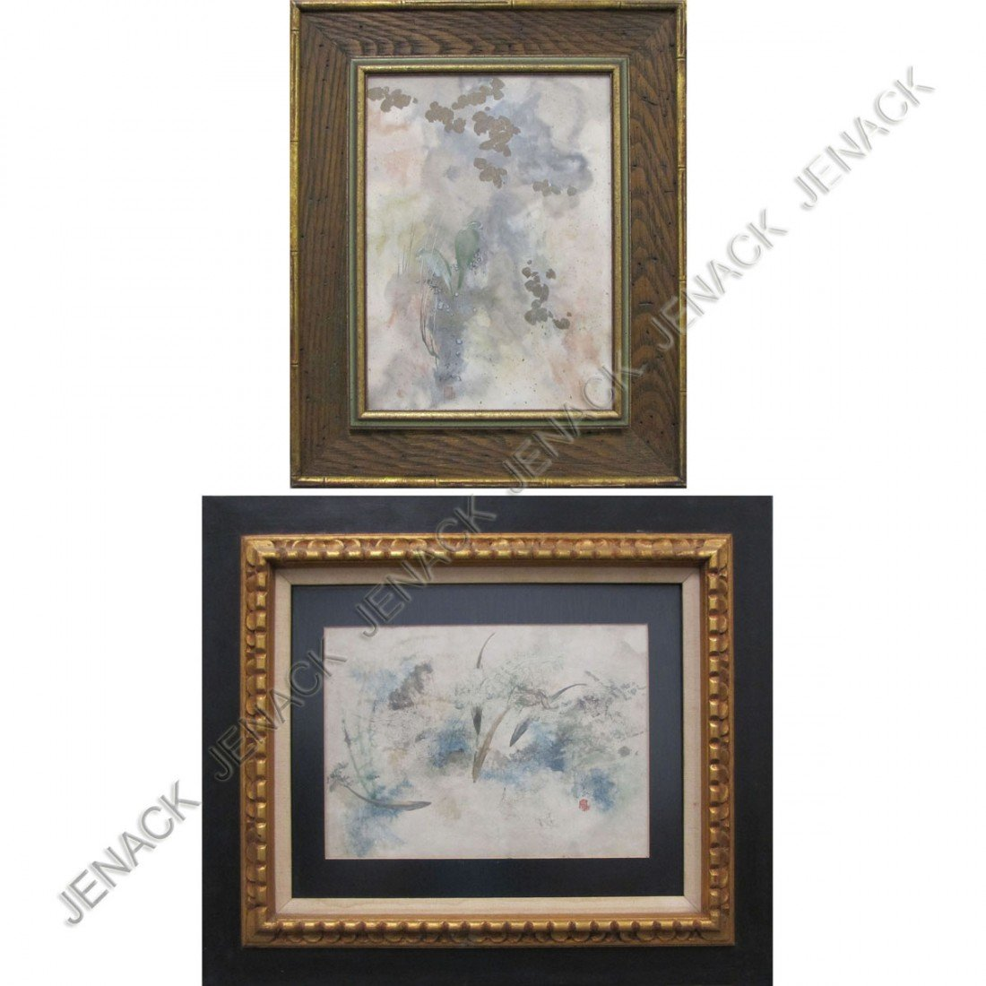 11: CHINESE SCHOOL (20TH CENTURY), LOT (2) WATERCOLOR
