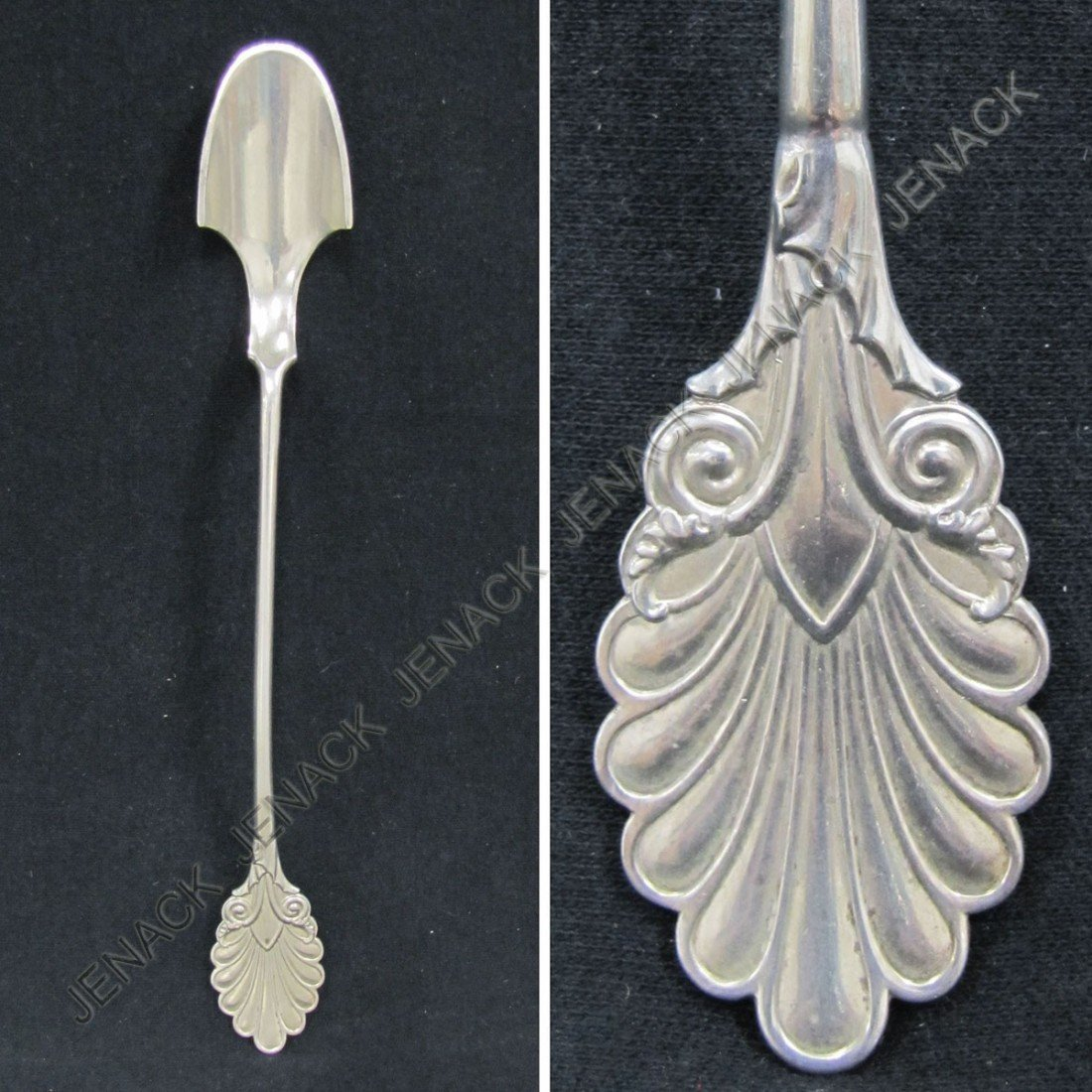 "17: GORHAM ""GRECIAN"" CHEESE SCOOP, 1861"