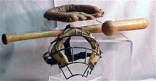 LOT ASSORTED BASEBALL ITEMS