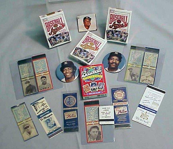 2023: MATCHBOOK BASEBALL COVERS, DECK CARDS