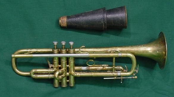 3: HENRI SELMER PARIS TRUMPET/MUTE WITH CASE