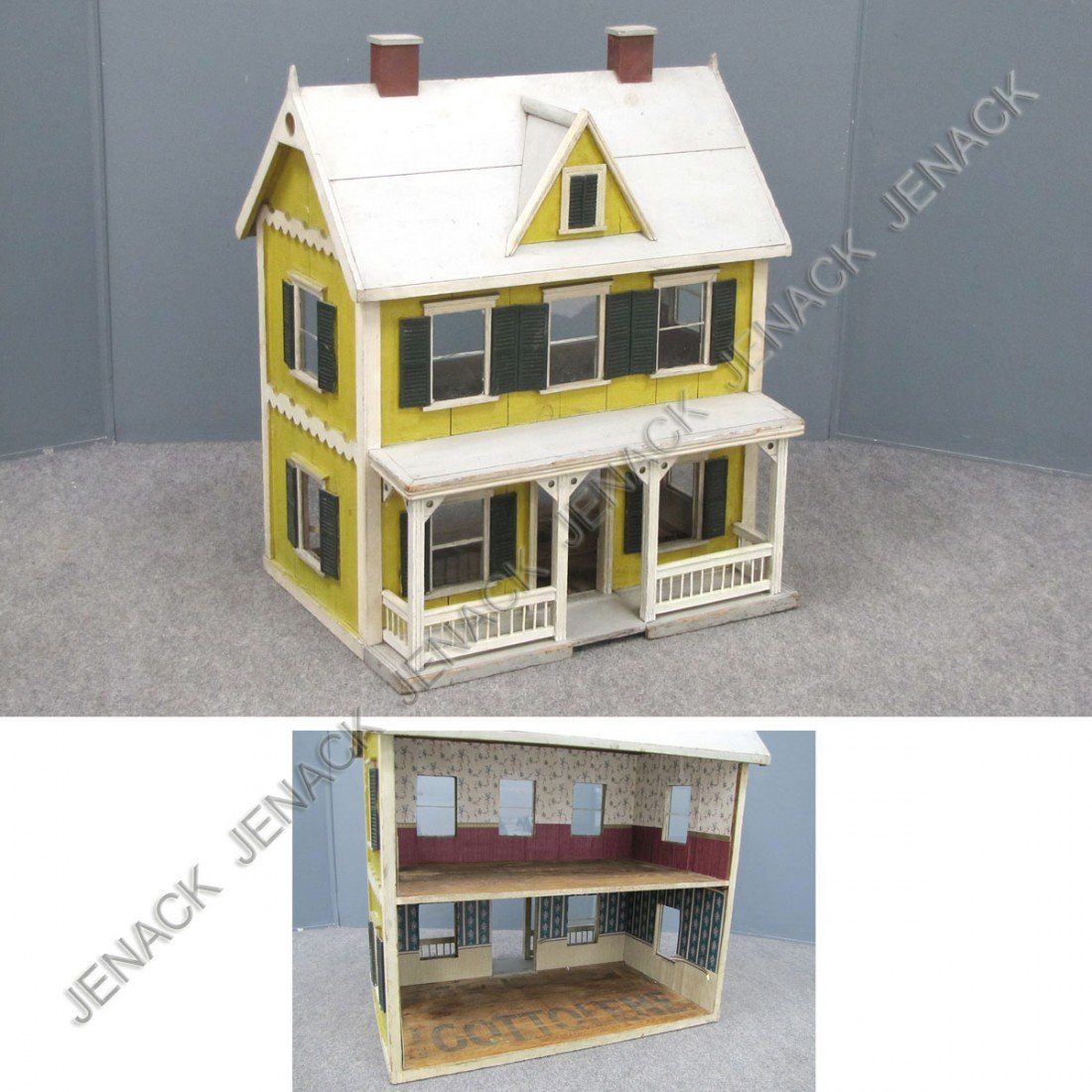 5: VINTAGE VICTORIAN STYLE DOLL HOUSE