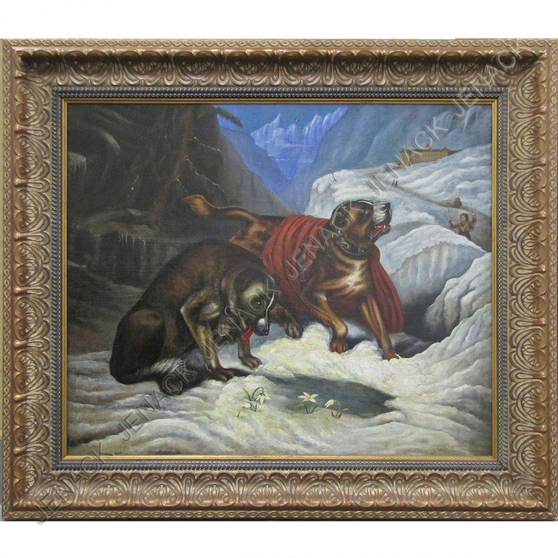 29: ANTOINE CLAVEAU (AMERICAN 1815-1872), OIL