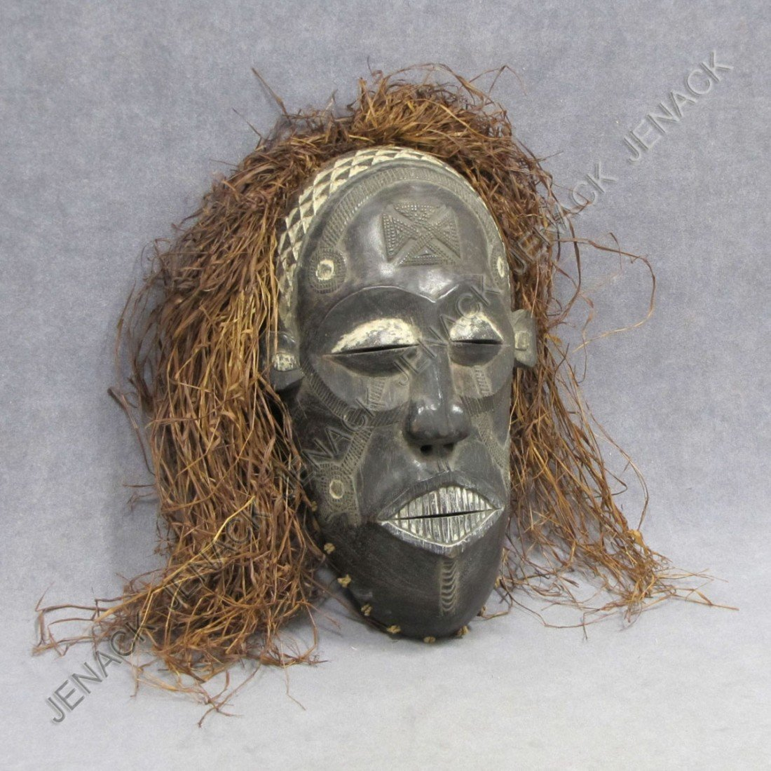 10: SENUFO CARVED AND PAINTED MASK