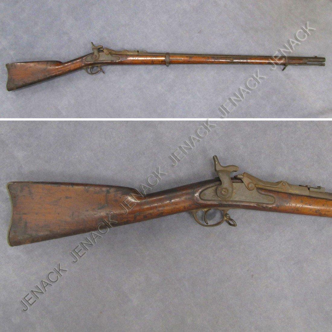 31: US MODEL 1868 50 CAL TRAPDOOR RIFLE