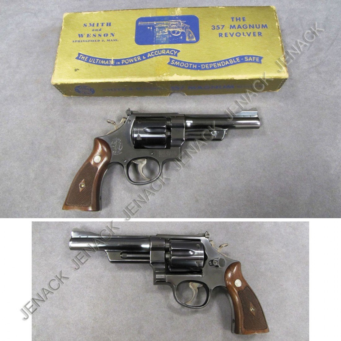 18: **RESTRICTED** SMITH & WESSON PRE-WAR REVOLVER