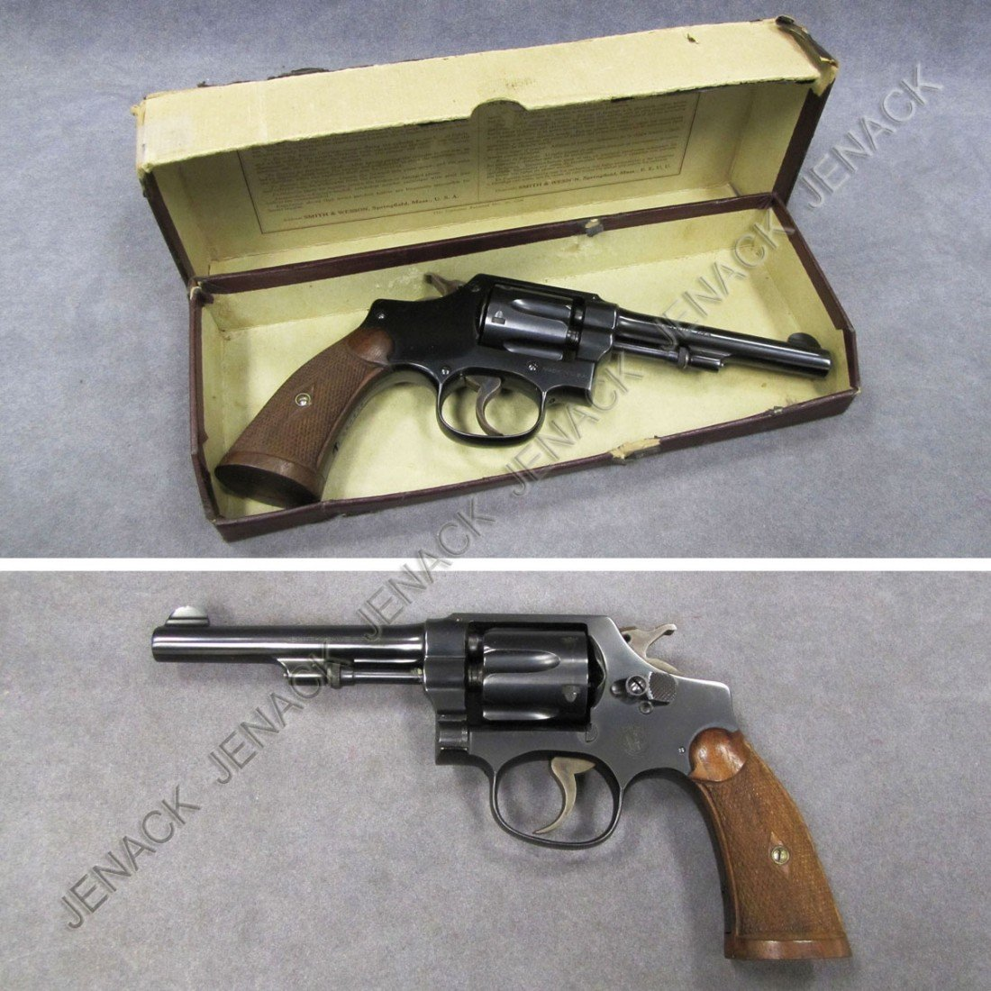 78: **RESTRICTED** SMITH & WESSON POLICE REVOLVER