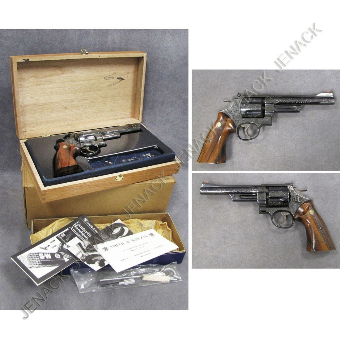 103: **RESTRICTED** SMITH & WESSON MODEL 27 REVOLVER