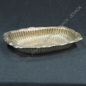 WHITING STERLING SILVER BREAD DISH
