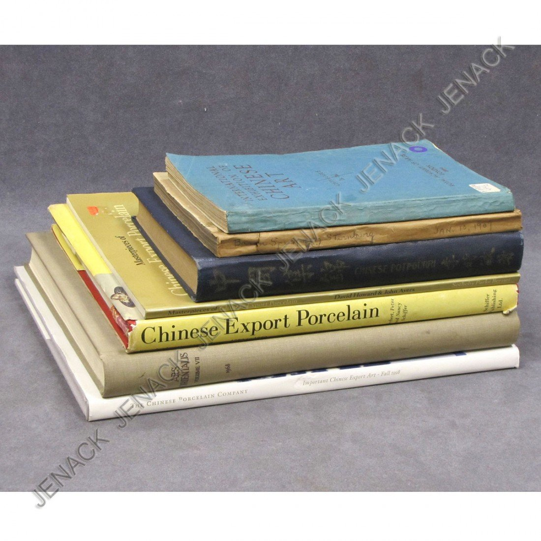 8: LOT (7) ASSORTED ART REFERENCE BOOKS