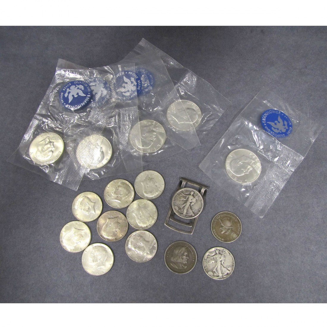 12: LOT (17) ASSORTED US SILVER COINS