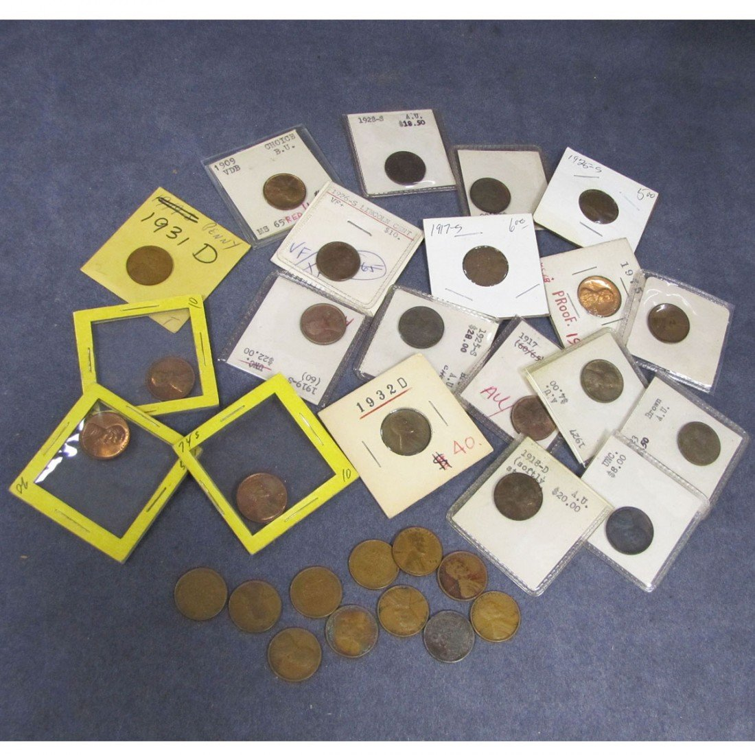 17: LOT (31) ASSORTED U.S. LINCOLN HEAD CENT COINS