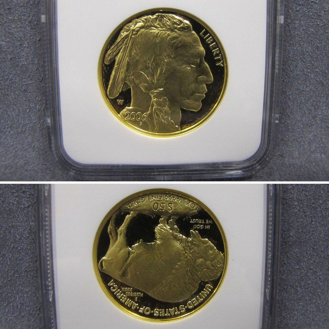 113: 2006 W GOLD $50.00 BUFFALO COIN, NGC