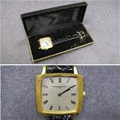 168 VACHERON  CONSTANTIN 18K 17 JEWEL DRESS WATCH