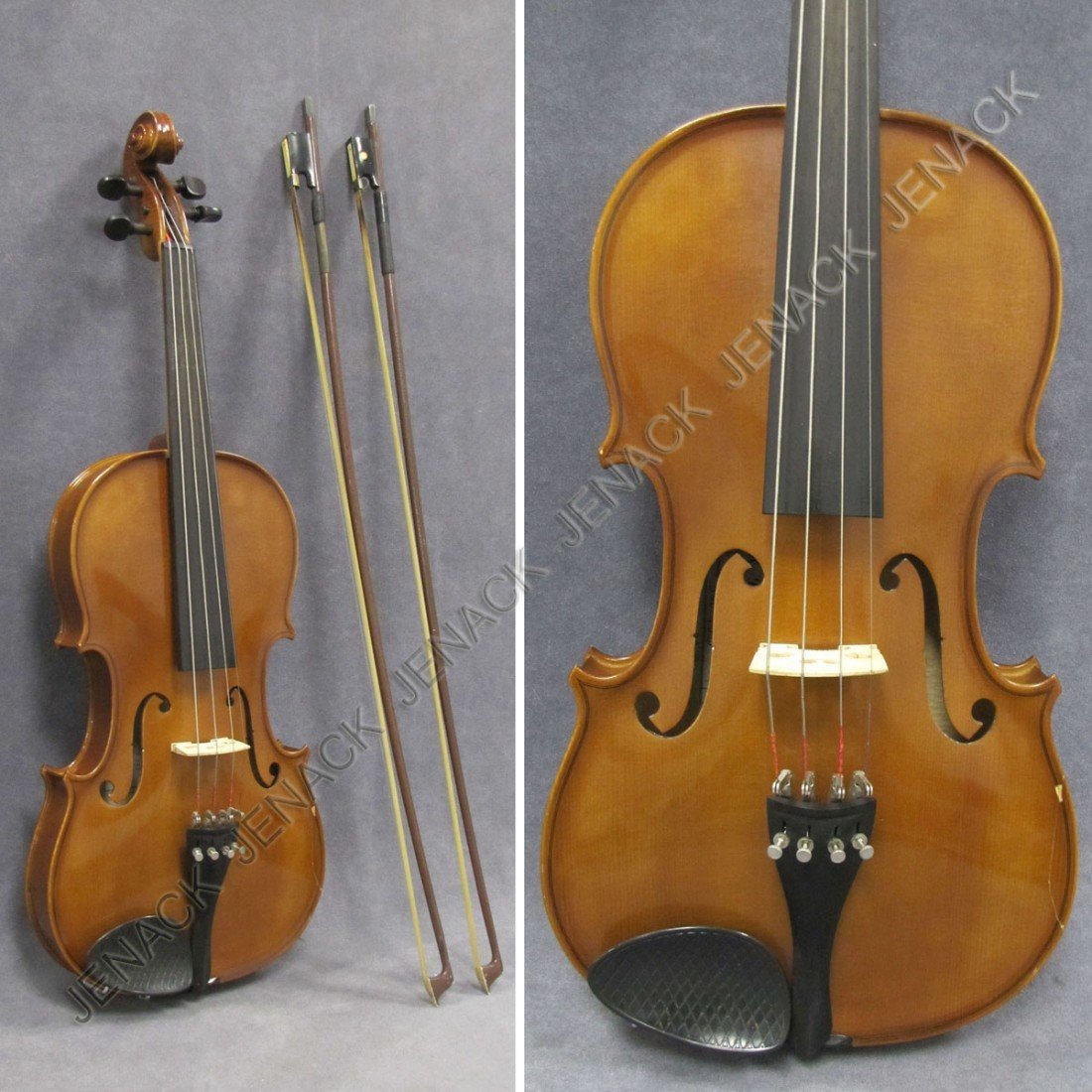 18: VIOLIN LABELED RODERICK PAESOLD, BUBEUREUTH 1994