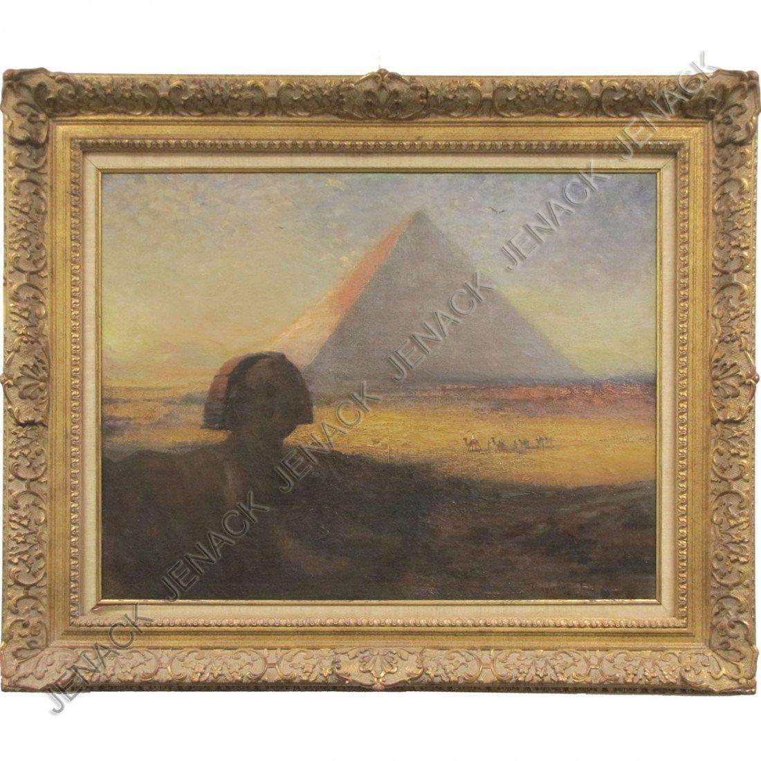 155: DOUGLAS ARTHUR TEED (AMERICAN 1864-1929), OIL