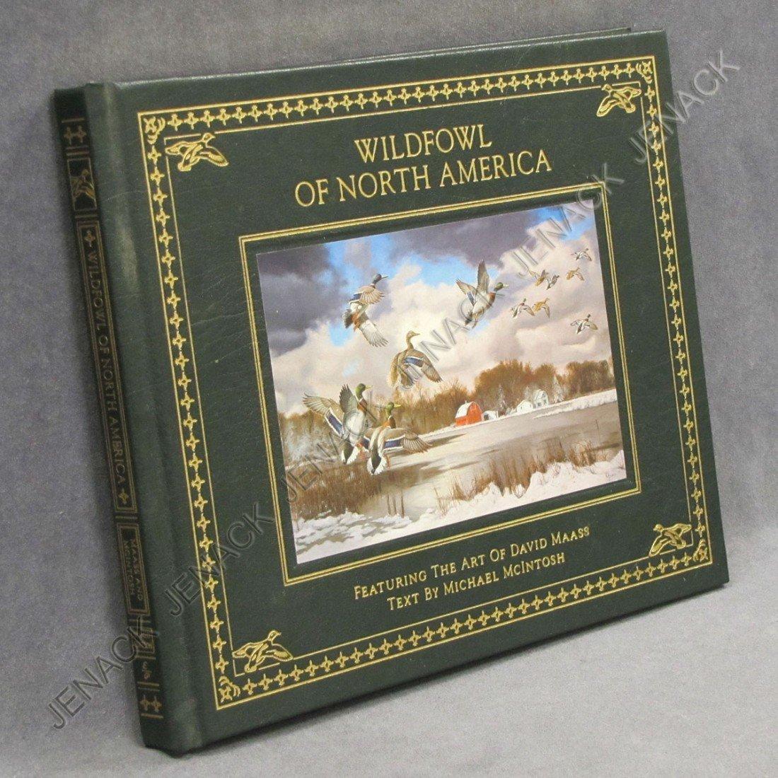 13: VOLUME-WILDFOWL OF NORTH AMERICA, DAVID MAASS