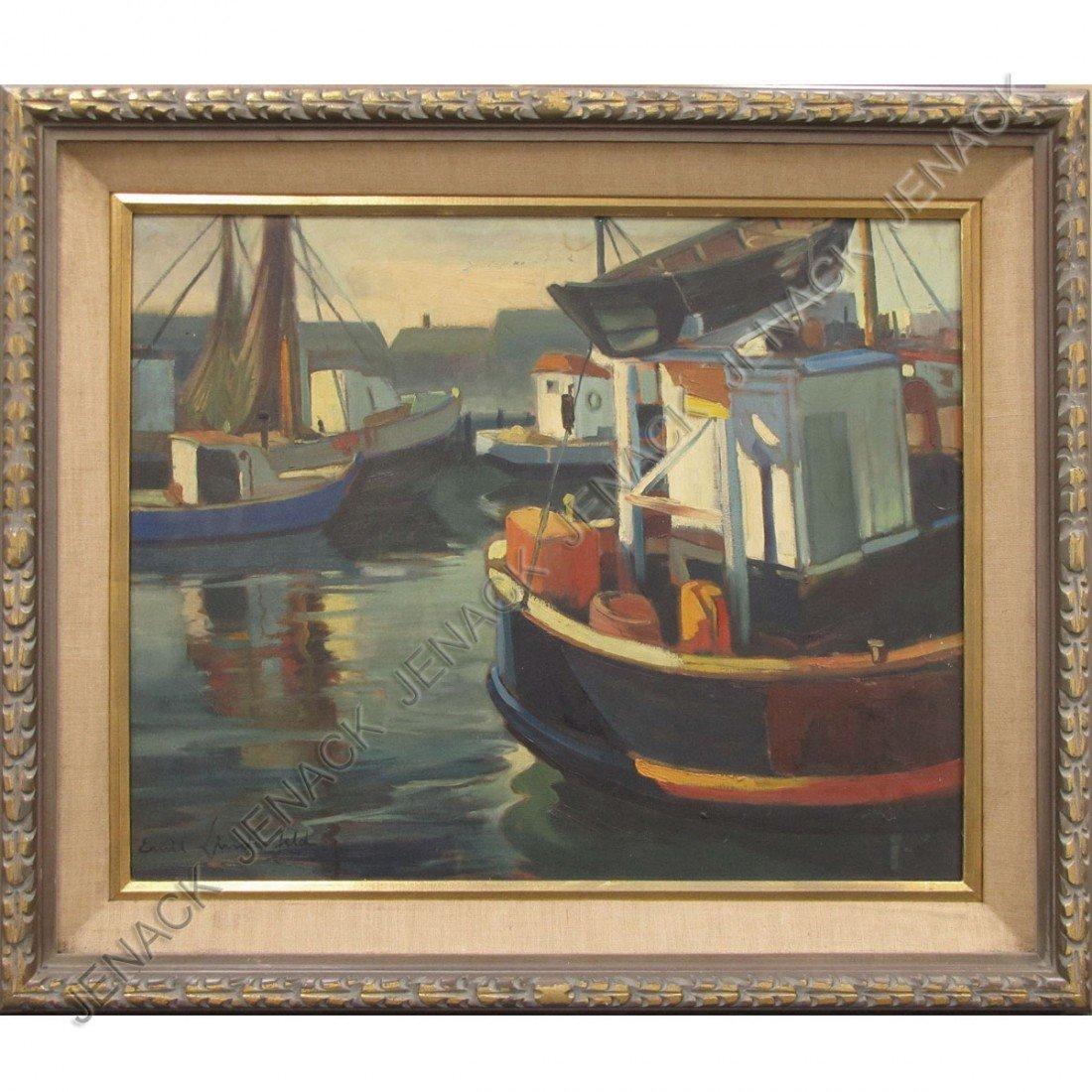 107: EMIL LINDENFELD (ITALIAN/AMERICAN 1905-1986), OIL
