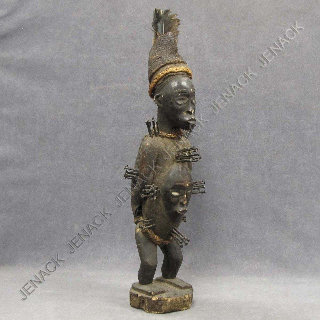 7: BAKONGO (CONGO) CARVED POWER FIGURE